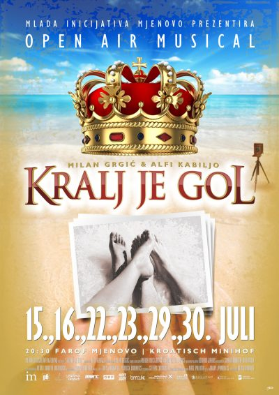 Fotoalbum mjuzikl – Kralj je gol